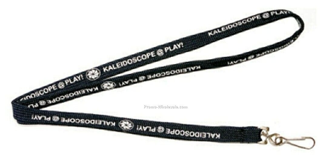 "3/8"" Tubular Stock Polyester Lanyards"