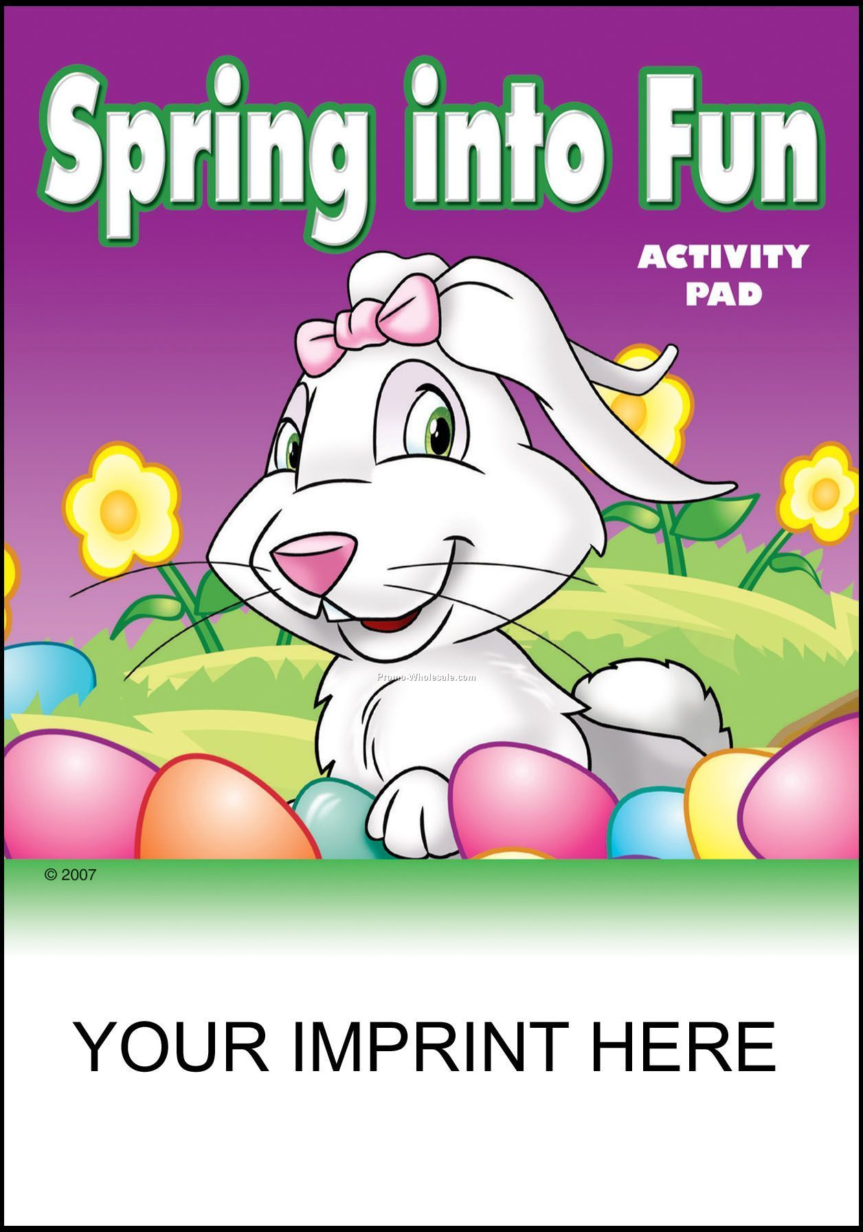 "5-1/4""x7-3/4"" Spring Into Fun Activity Pad"