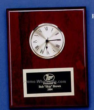 "8""x10"" Piano Finish Executive Series Clock"