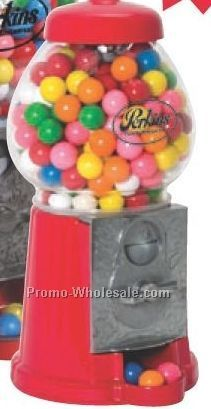 "9""x4"" Antique Style Die-cast Gumball Machine"