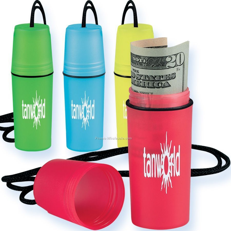 Beach Safe Waterproof Container With Neck Cord