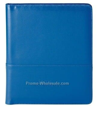 "Colorplay Leather Padfolio Combo- 9-1/2""x12"""