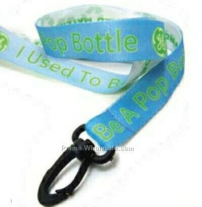 Digital Sublimation Recycled Lanyard