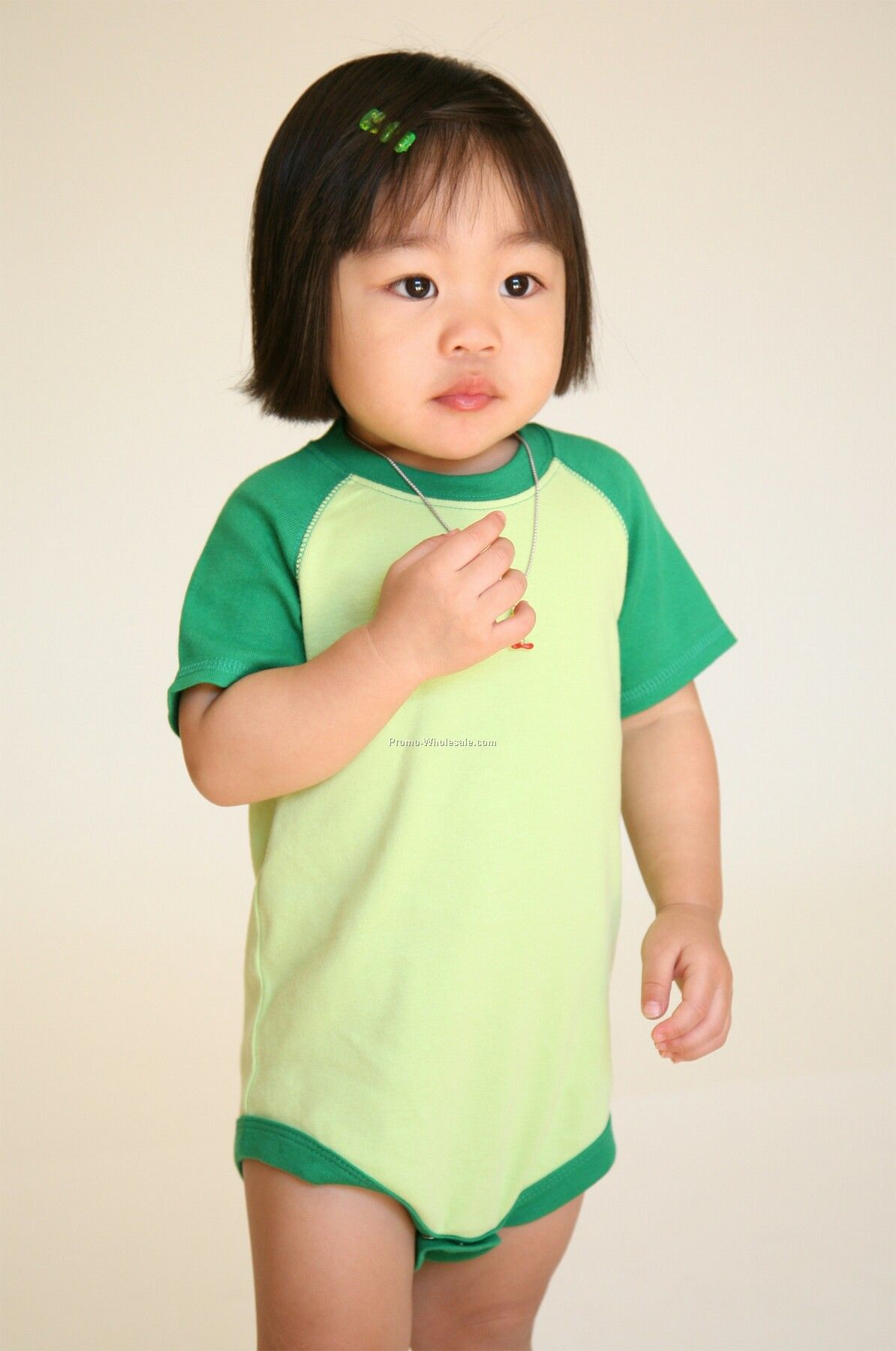 Infants Short Sleeve Raglan Body Suit (6m-24m)