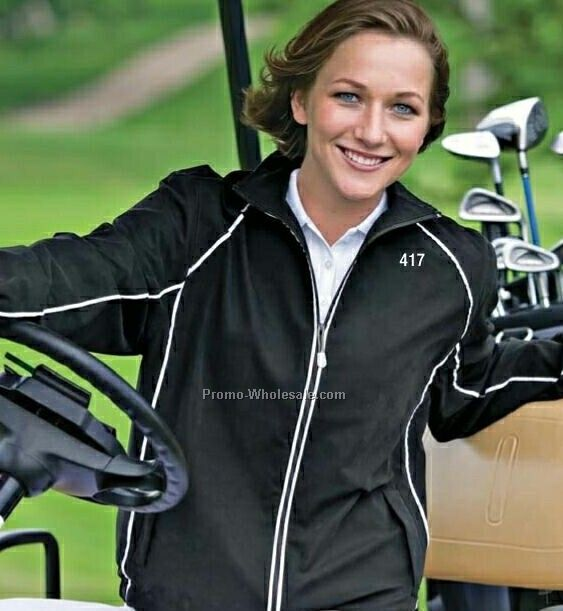 Ladies Microfiber Lightweight Jacket (2xl)