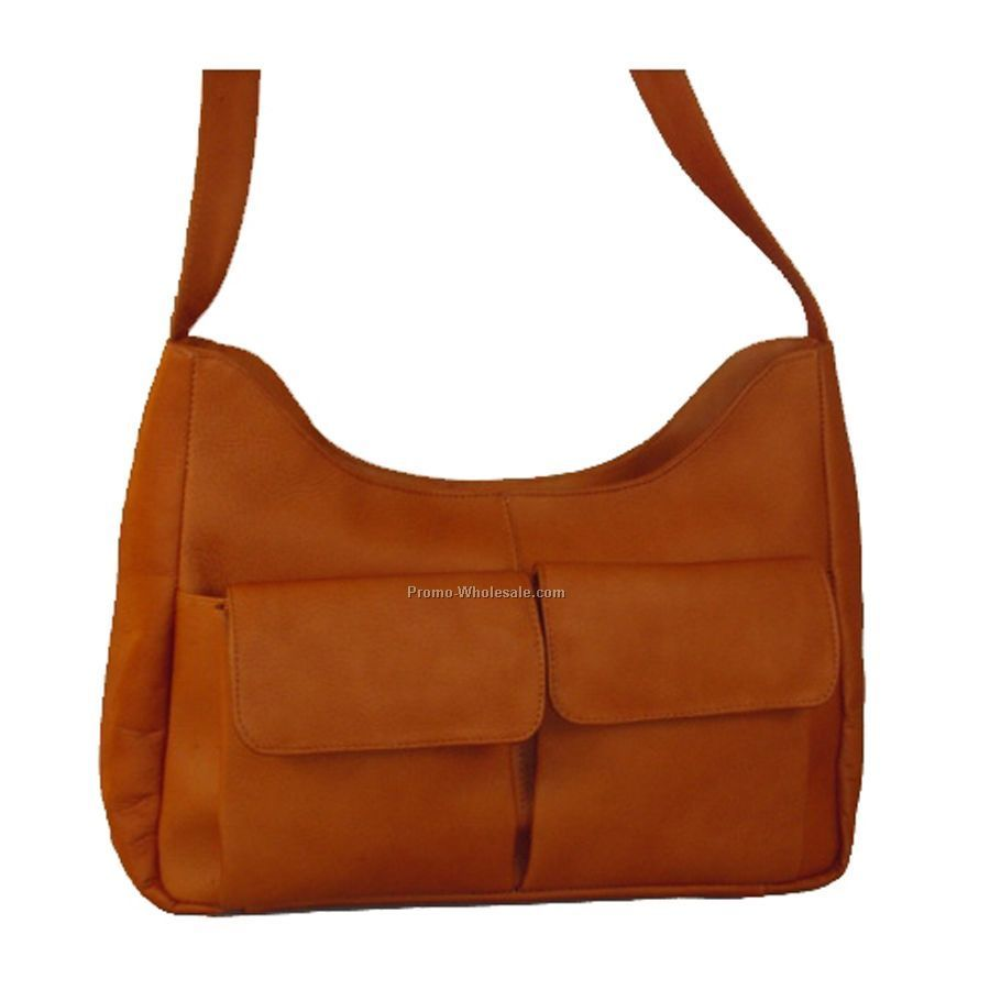 Large Top Zip Handbag