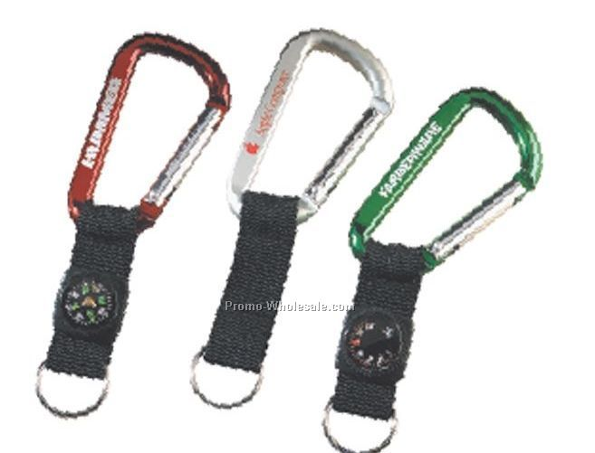 Lewis Carabiner With Strap & Thermometer - 80 Mm (Standard Shipping)