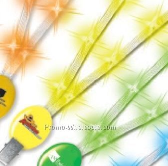 Light Up Lanyard (Yellow)