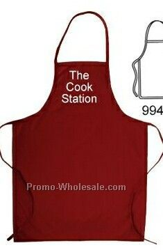 Long Apron With Loop Neck Strap (Blank)