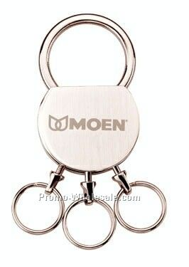 Metallic Detachable Multi-ring Circular Key Ring
