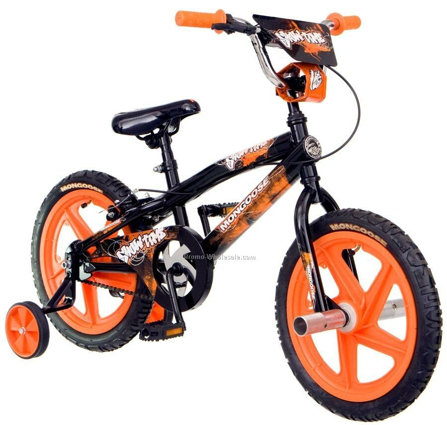 "Mongoose Boy's 16"" Showtime Bicycle"