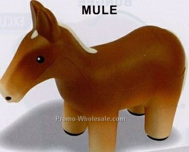 Mule Squeeze Toy