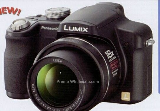 "Panasonic 10 Megapixel Camera With 2-1/2"" Lcd View-screen"