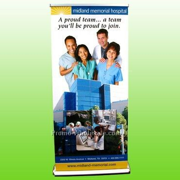 Pl-8 Retractable Banner Display