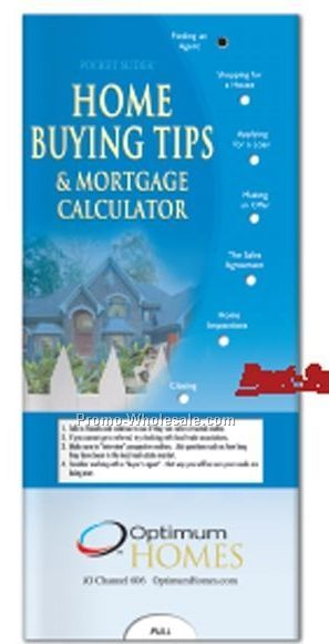 Pocket Slider Chart (Home Buying Tips And Mortgage Calculator)