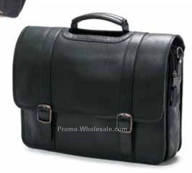 Porthole Flap Briefcase