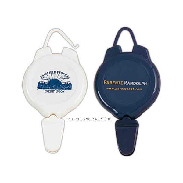 "Retractable Badge Holder (1-3/4""x1-3/4"")"