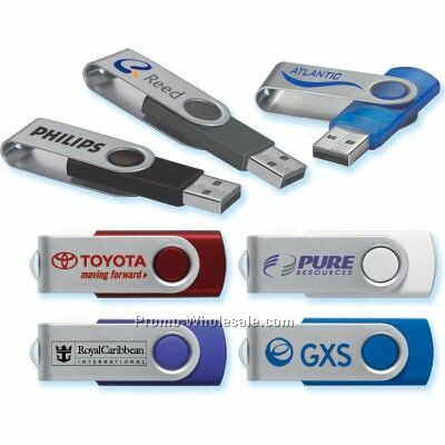Swivel USB Drive - 1 Gb