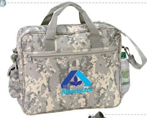 Tactical Briefcase W/Cell Phone Pocket & Bottle Holder