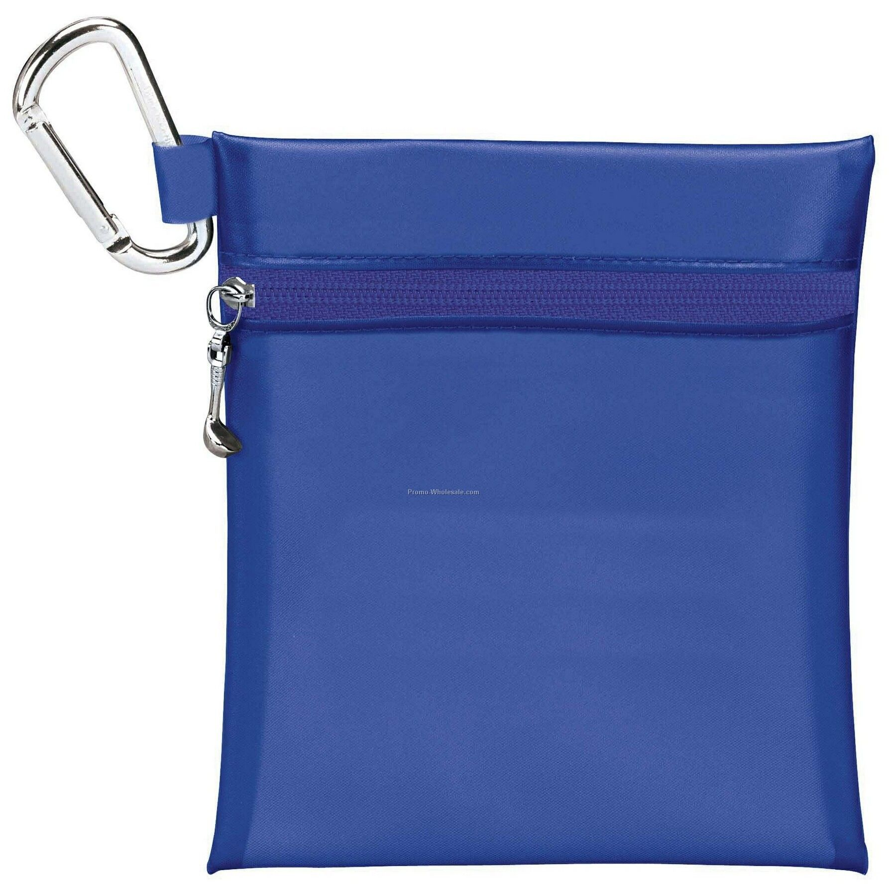 Tee Off Large Tee Pouch With Carabiner Clip