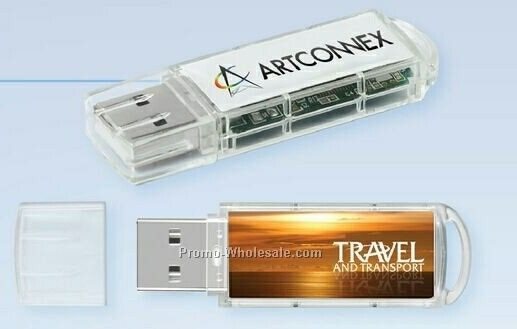 USB 2.0 Clear View Flash Drive Cv