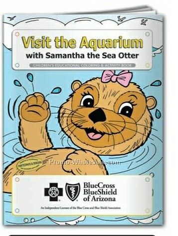 Visit The Aquarium Coloring Book (Action Pak)