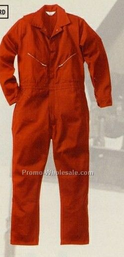 Walls 100% Cotton Coveralls (34-66) - Red