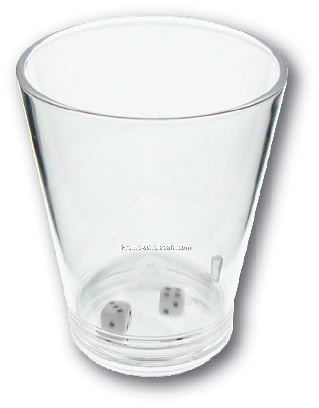1-1/2 Oz. High Roller Compartment Shot Glass