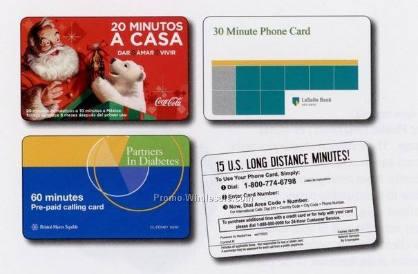 20 Minute Domestic Phone Card