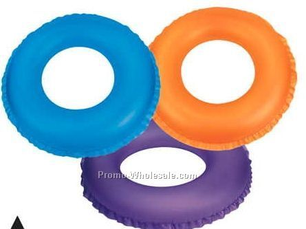 "24"" Inflatable Opaque Life Preserver"