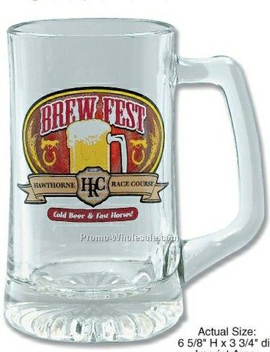 25 Oz. Tankard Glass