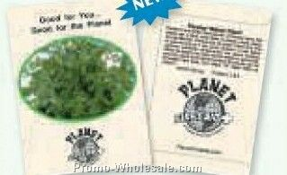 "3-1/4""x4-1/2"" Parsley Italian Giant (1 Color)"