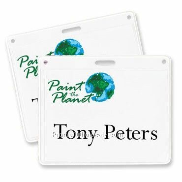 "4""x3"" Recycled Slotted Vinyl Holder"