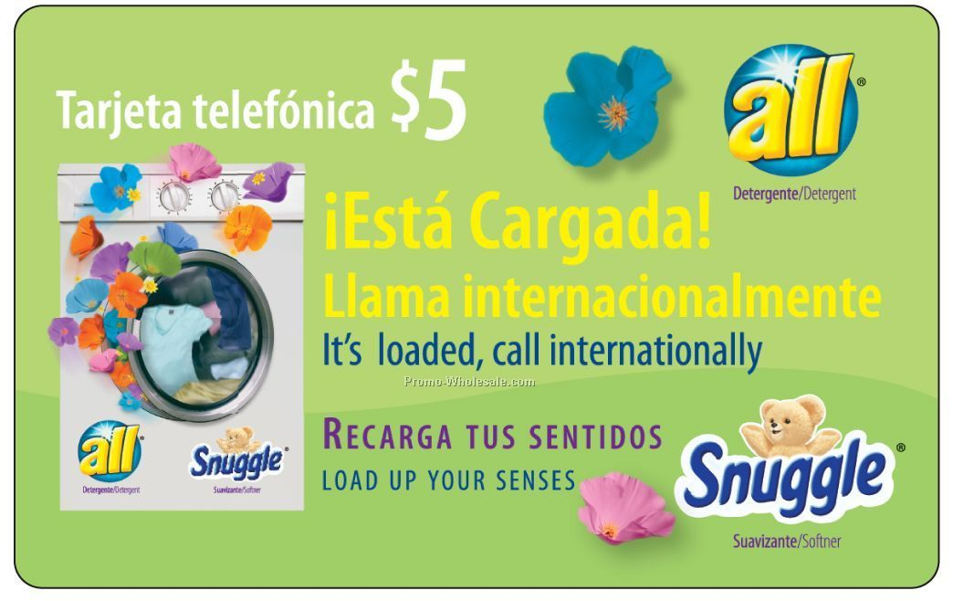 60-minute Latin America Phone Cards