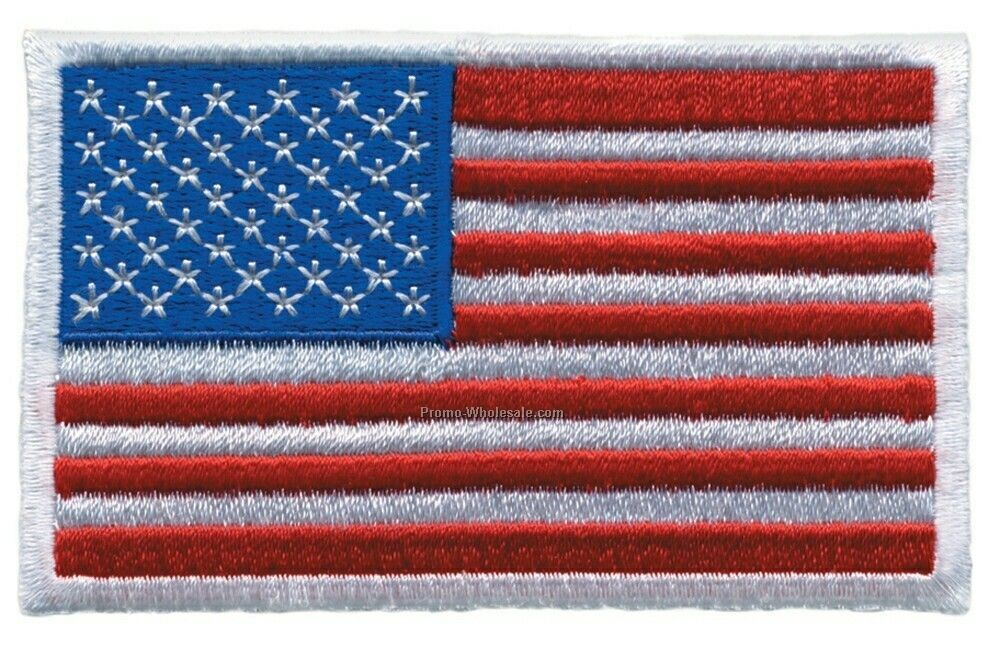 American Flag Patches - (Small)