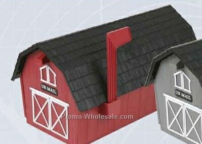 Barn Series Mailboxes - Red (1 Color)
