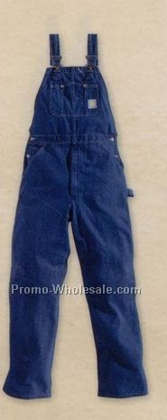 Carhartt Unlined Washed-denim Bib Overall
