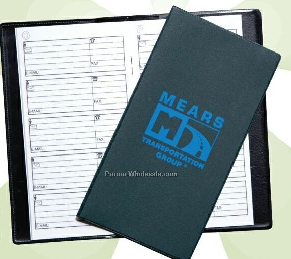 Deluxe Pocket Telephone/ Address Book (Non Standard Colors)