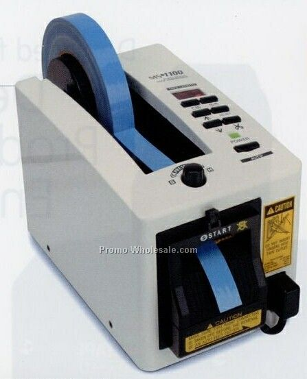 Electronic Protective Film Tape Dispenser W/ Safety Guard Cutting Head