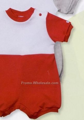 Enza Infant Color Block Romper (12m-24m)