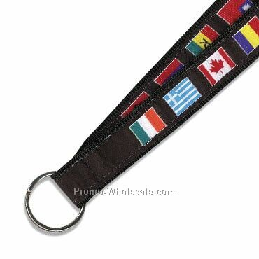 International Flag Lanyard