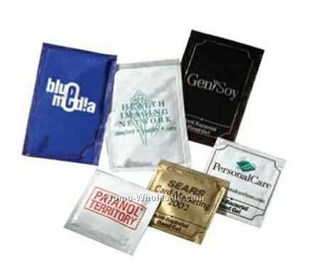 Large Pacific Anti-bacterial Hand Gel Packets ( 1 Day Shipping)
