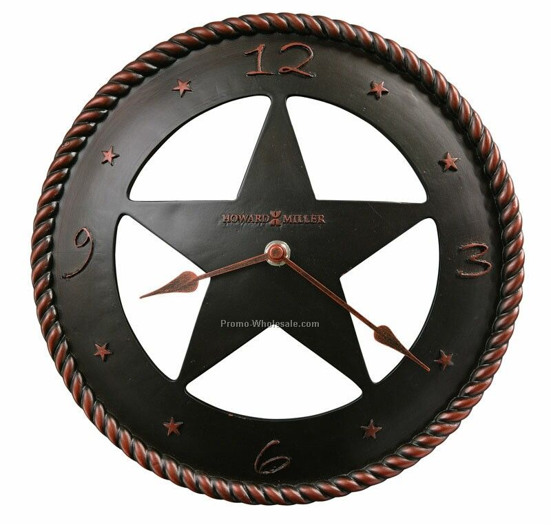 Maverick Western Star Clock (Blank)