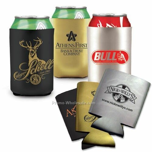 Metallic Can Cooler (2 Day Rush)