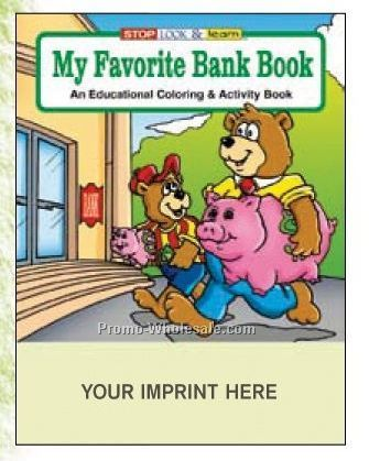 My Favorite Bank Book Coloring Book