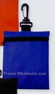 Non Woven Zippered Pouch (Silk Screen)