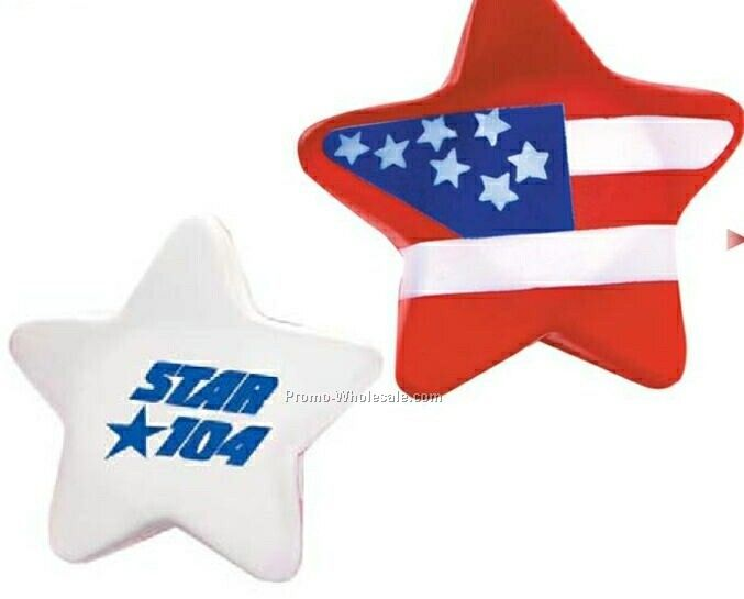 Patriotic Star Stress Reliever