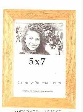 "Picture Frame Collection Trenton Brown Wood(5""x7"")"