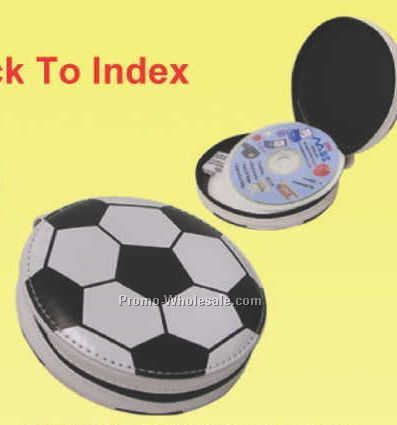 Pvc Soccer CD Holder (12 CD Capacity)