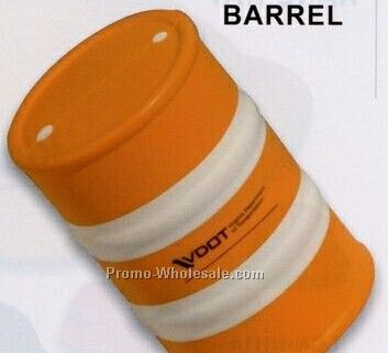 Safety Barrel Squeeze Toy